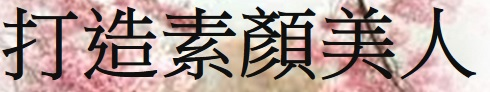 高雄日式臉部按摩-按摩手技,臉部按摩,洗臉,美容,素顏,日式臉部按摩-打造美人武藏女性